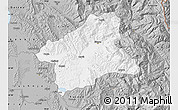 Gray Map of Elbasan