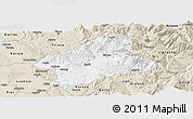 Classic Style Panoramic Map of Elbasan