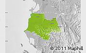 Physical Map of Fier, lighten, desaturated