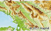Physical 3D Map of Gjirokastër