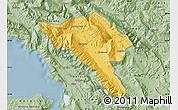 Savanna Style Map of Gjirokastër