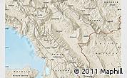 Shaded Relief Map of Gjirokastër