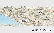 Shaded Relief Panoramic Map of Gjirokastër