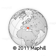 Outline Map of Gramsh