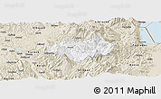 Classic Style Panoramic Map of Gramsh