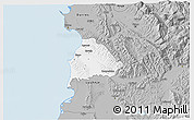Gray 3D Map of Kavajë