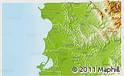 Physical 3D Map of Kavajë