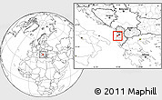 Blank Location Map of Kavajë