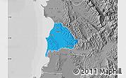 Political Map of Kavajë, desaturated