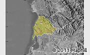 Satellite Map of Kavajë, desaturated