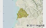 Satellite Map of Kavajë, lighten