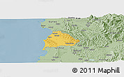 Savanna Style Panoramic Map of Kavajë