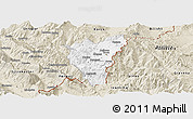 Classic Style Panoramic Map of Kolonjë