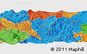 Political Panoramic Map of Kolonjë