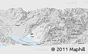 Silver Style Panoramic Map of Koplik