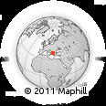 Outline Map of Korçë