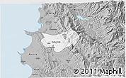 Gray 3D Map of Krujë