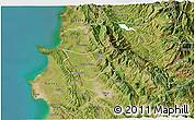 Satellite 3D Map of Krujë