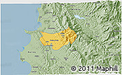 Savanna Style 3D Map of Krujë