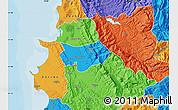 Political Map of Krujë