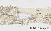 Classic Style Panoramic Map of Krumë