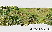 Satellite Panoramic Map of Krumë