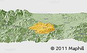 Savanna Style Panoramic Map of Krumë