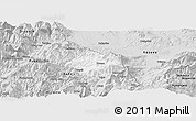 Silver Style Panoramic Map of Krumë
