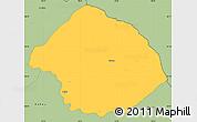 Savanna Style Simple Map of Krumë