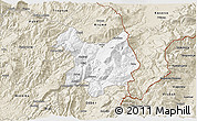 Classic Style 3D Map of Kukës