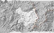 Gray 3D Map of Kukës