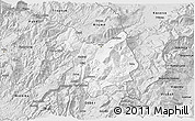 Silver Style 3D Map of Kukës