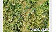Satellite Map of Kukës