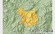 Savanna Style Map of Kukës