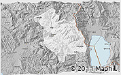 Gray 3D Map of Librazhd