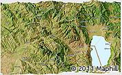 Satellite 3D Map of Librazhd