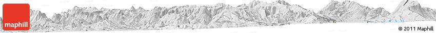 Silver Style Horizon Map of Librazhd