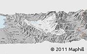 Gray Panoramic Map of Mat