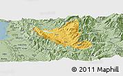 Savanna Style Panoramic Map of Mat