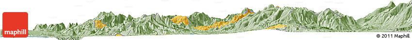 Savanna Style Horizon Map of Mirditë