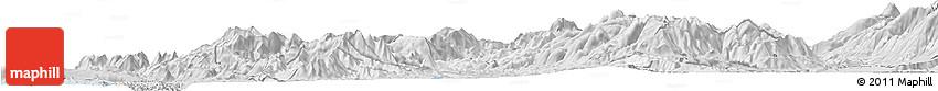 Silver Style Horizon Map of Mirditë