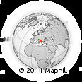 Outline Map of Mirditë