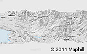 Silver Style Panoramic Map of Mirditë