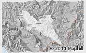 Gray 3D Map of Përmet