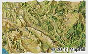 Satellite 3D Map of Përmet