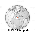 Outline Map of Përmet