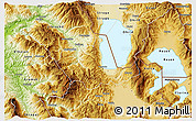 Physical 3D Map of Pogradec