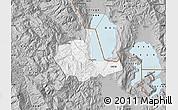 Gray Map of Pogradec