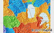 Political Map of Pogradec