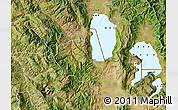 Satellite Map of Pogradec